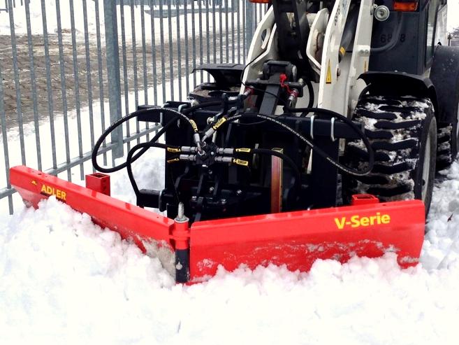 Schneeräumschild   Schneeschild V-Serie