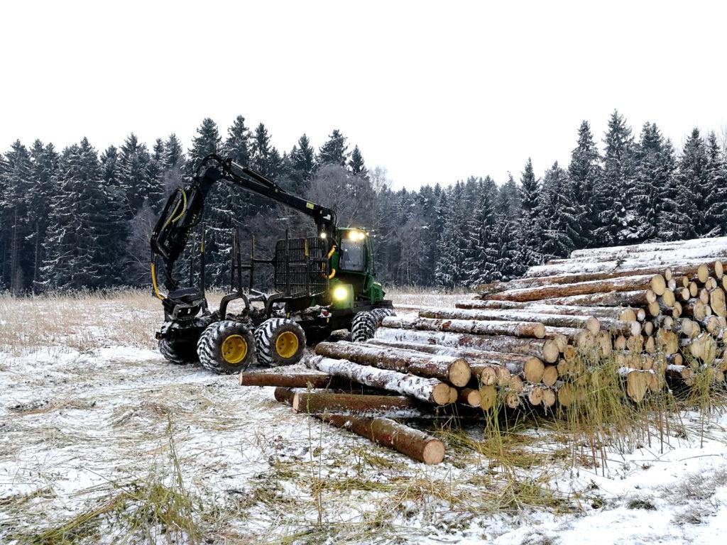 NB Baumaschinen Forstservice Rückezug
