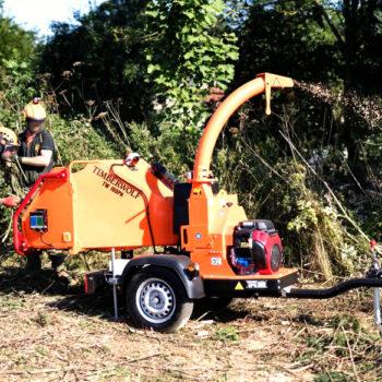 Anhängerhäcksler | Holzhäcksler Timberwolf TW160PH