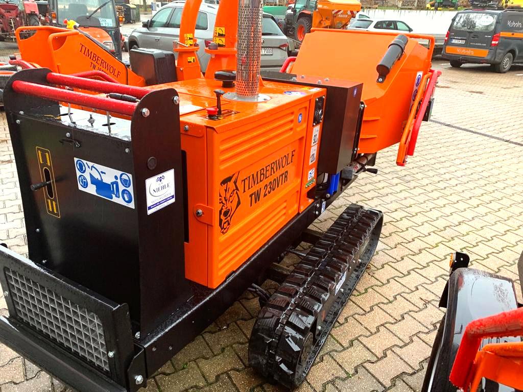 Anhängerhäcksler | Holzhäcksler Timberwolf TW230VTR