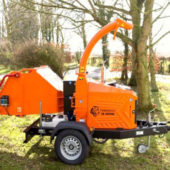 Anhängerhäcksler | Holzhäcksler Timberwolf TW280TDHB