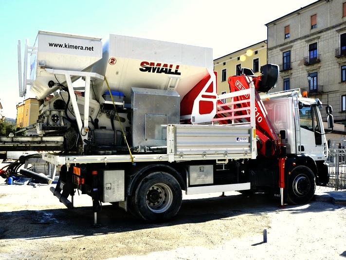 Mobile Betonmischanlage KimeraSMALL