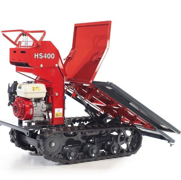 Minidumper   Dumper HS400 Flachmulde