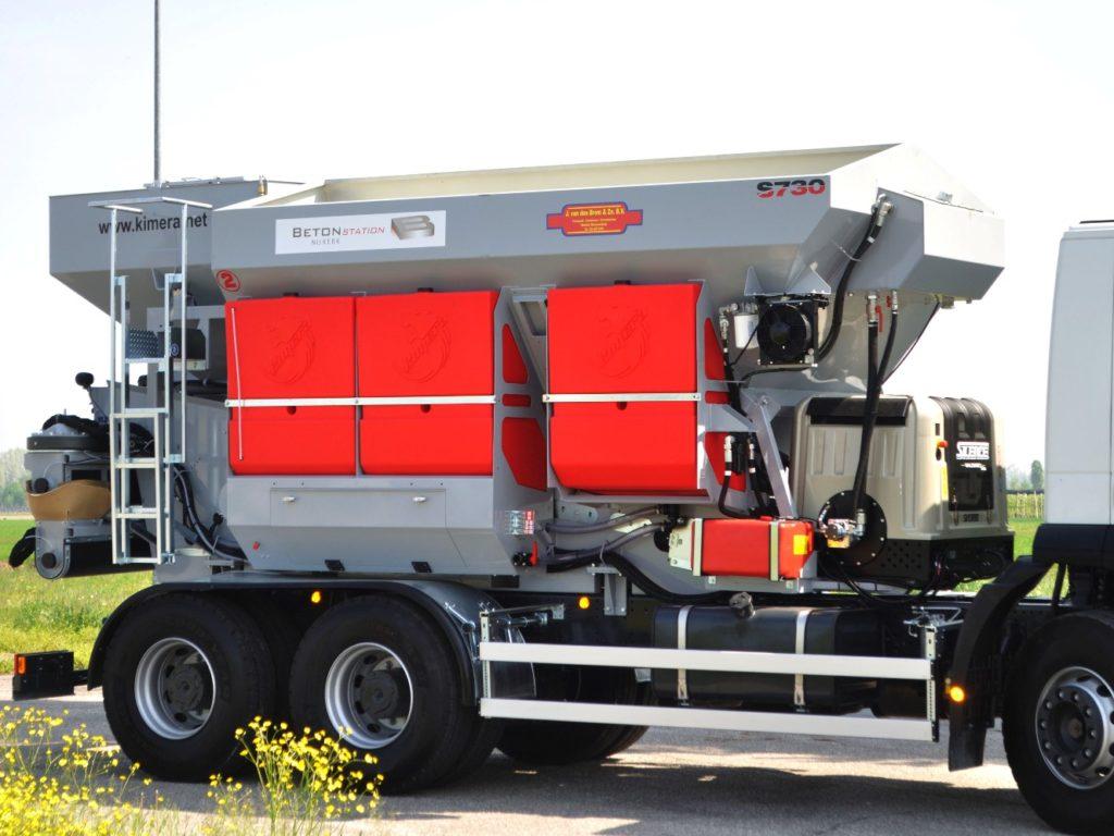 Mobile Betonmischanlage Kimera S730
