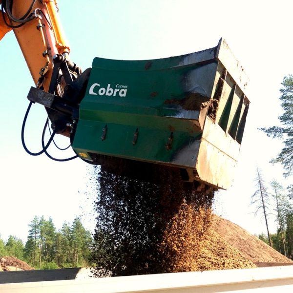 Schaufelseparator COBRA K-120