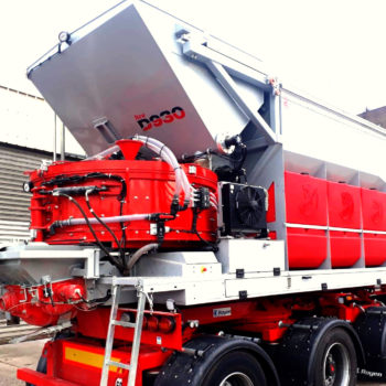 Mobile Betonmischanlage D930 | Betonmischer
