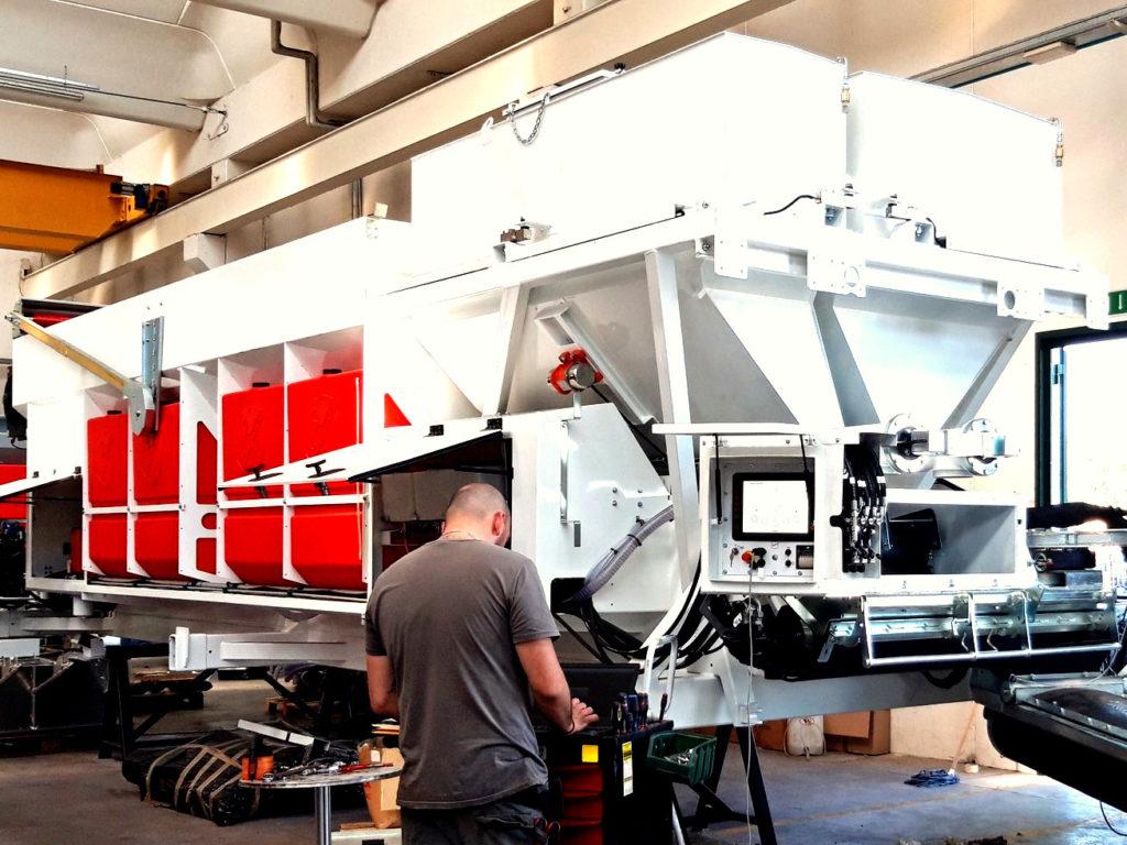 Mobile Betonmischanlage K1260 | Betonmischer