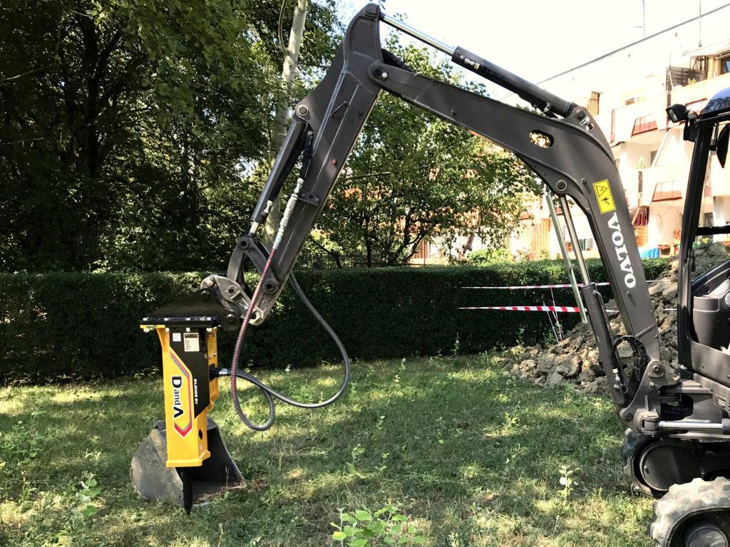 Hydraulikhammer   Abbruchhammer