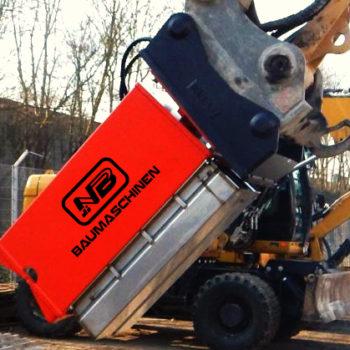 Kernbohrgerät für Bagger