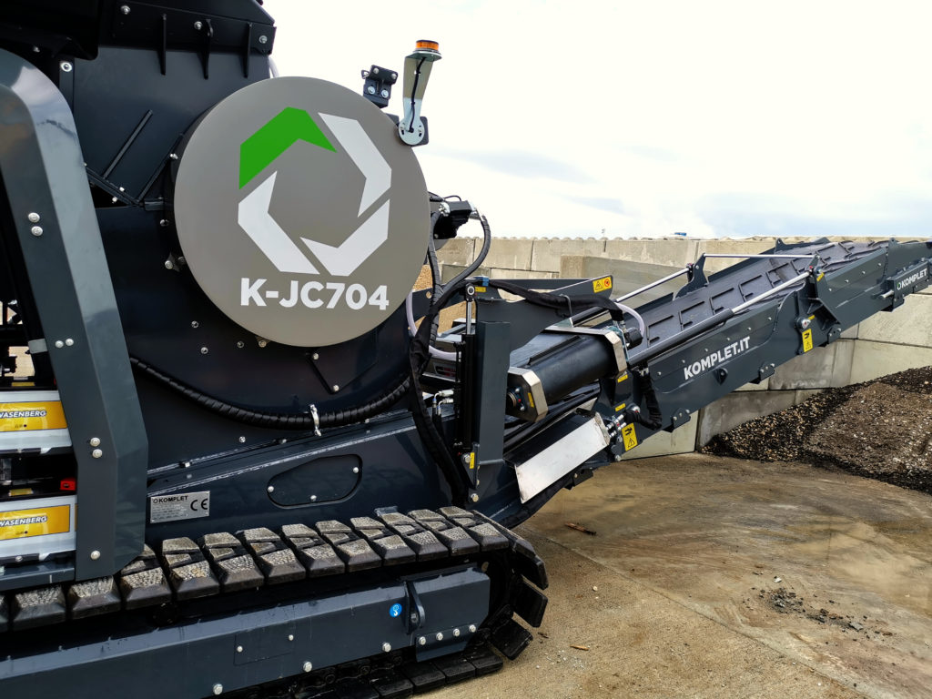 Mobiler Backenbrecher | Brechanlage Komplet K-JC704
