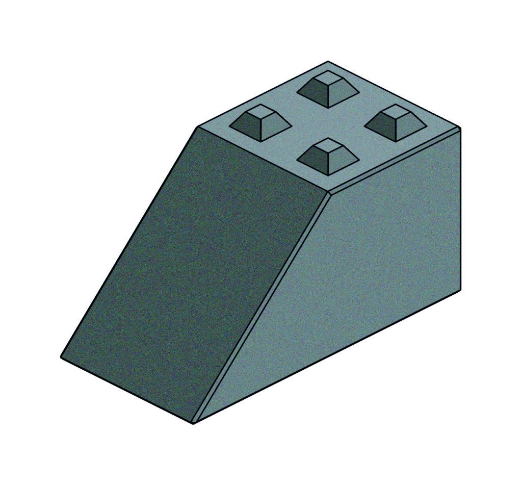 Legoform Beton | Betonblock L1688