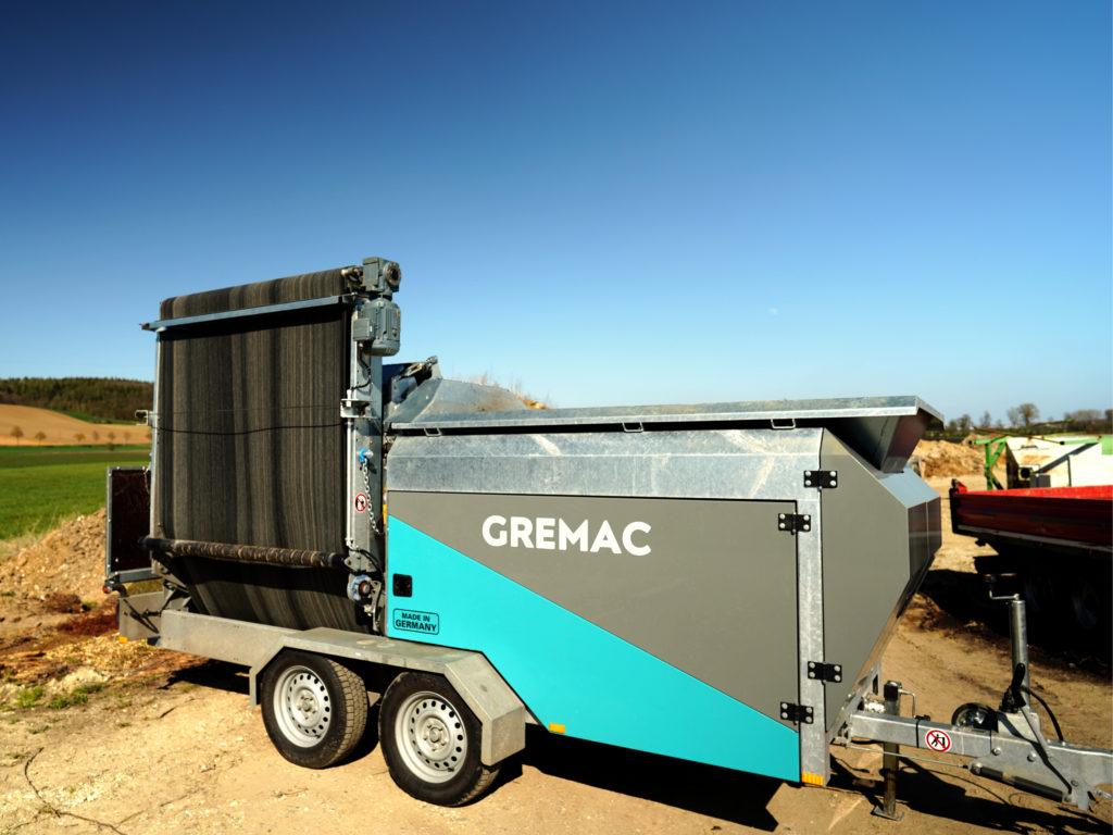 Trommelsieb Gremac e1 | Mobile Siebanlage