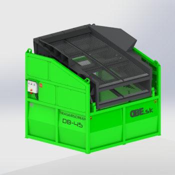 Mobile Siebmaschine Traserscreen DB-45